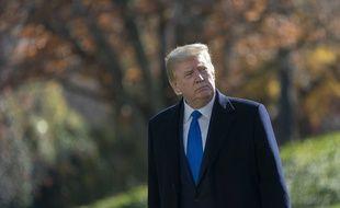Donald Trump à la Maison-Blanche, le 29 novembre 2020.