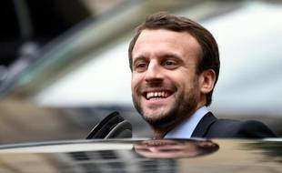 Le ministre de l'Economie Emmanuel Macron, le 6 janvier 2016 à Paris