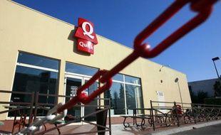 Le restaurant Quick dans la zone commerciale de Cap Sud, Avignon, le 25 janvier 2011.