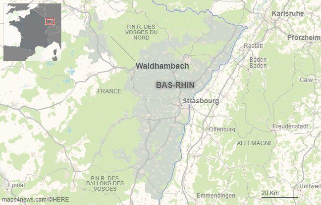 Waldhambach dans le bas-Rhin.