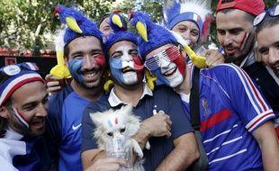 Des supporters à Marseille le 7 juillet 2016