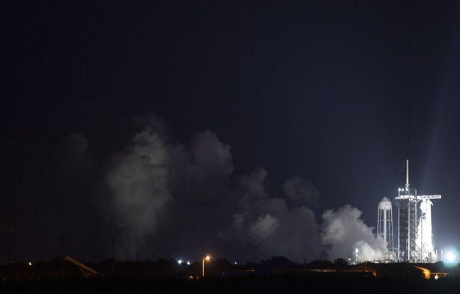 648x415 vol habite spacex vers iss reporte journee cause meteo