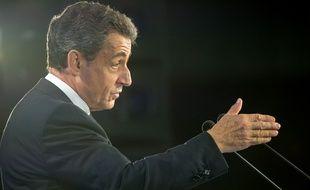 Le président des Républicains Nicolas Sarkozy