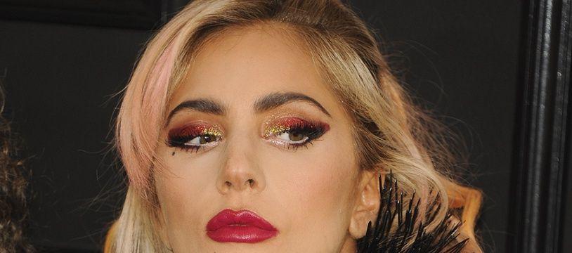 La chanteuse Lady Gaga lors des 59ème Grammy Awards