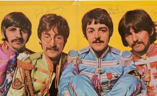 Les membres des Beatles, Ringo Starr, John Lennon,  Paul McCartney et George Harrison