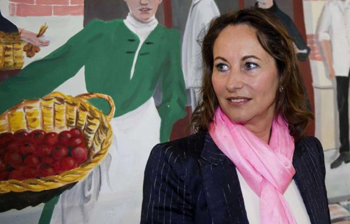 Ségolène Royal après son vote à La Rochelle au premier tour des élections législatives le 10 juin 2012. – NOSSANT / SIPA