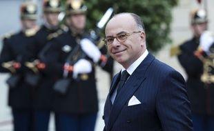 Bernard Cazeneuve au Palais de l'Elysée le 14 mai 2017.