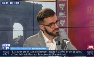 Ismaël Emelien sur BFMTV, le 27 mars 2019.