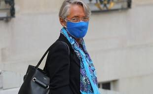Elisabeth Borne, le 3 septembre 2020 à l'Elysée.