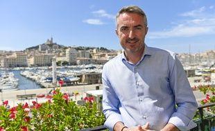 Le candidat du Rassemblement National, Stéphane Ravier, pour la mairie de Marseille.