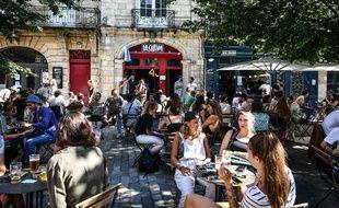 A Bordeaux, de nombreux bars et restaurants se sont inscrits sur la plateforme « J'aime mon bistrot ».