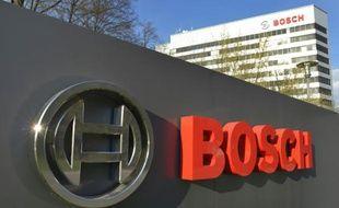 Le siège de la compagnie allemande Bosch, le 18 avril 2013.