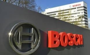 Le siège de la compagnie allemande Bosch, le 18 avril 2013