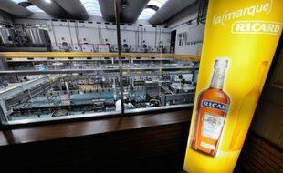 Une usine de Pernod-Ricard à Vendeville, le 31 janvier 2013