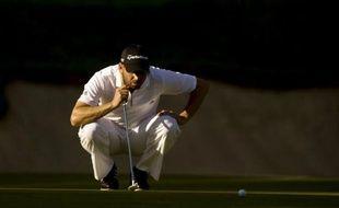 L'Espagnol Sergio Garcia a remporté dimanche à Valderrama le Masters d'Andalousie de golf, comptant pour le circuit européen (EPGA), en devançant d'un coup son compatriote Miguel Angel Jimenez avec un total de 278, six sous le par.