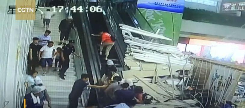 L'incident a fait huit blessés, dont une personne âgée.
