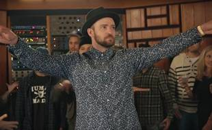 Extrait du clip «Can't stop the feeling» de Justin Timberlake