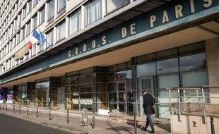 Le Crous de Paris, le 12 février 2020.