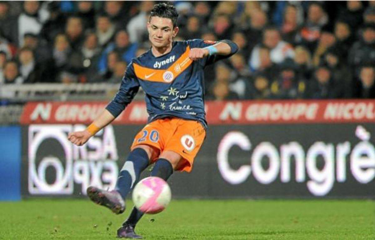 Rémy Cabella a inscrit le seul but de la rencontre au début de la seconde période. –  DAMOURETTE / SIPA