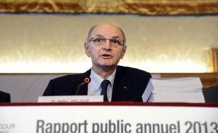 Didier Migaud, le Premier président de la Cour des comptes, le 12 février 2013 à Paris.