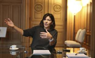 La maire PS de Paris, Anne Hidalgo, le 5 décembre 2014 à Paris.
