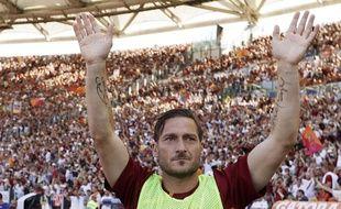 Francesco Totti dit au revoir à Rome. Et inversement.