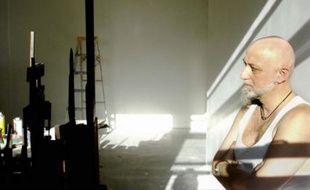 CharlElie Couture dans son atelier à New York