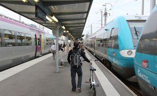 Le TER Rennes-Nantes