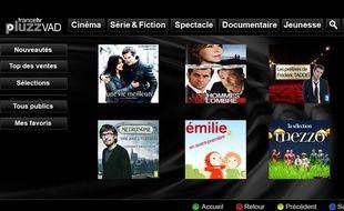 PluzzVàD, la plateforme de vidéo à la demande de France Télévisions.