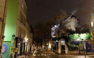 Montmartre, le 1er novembre 2020
