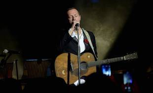 Coldplay en concert à Londres en février 2020