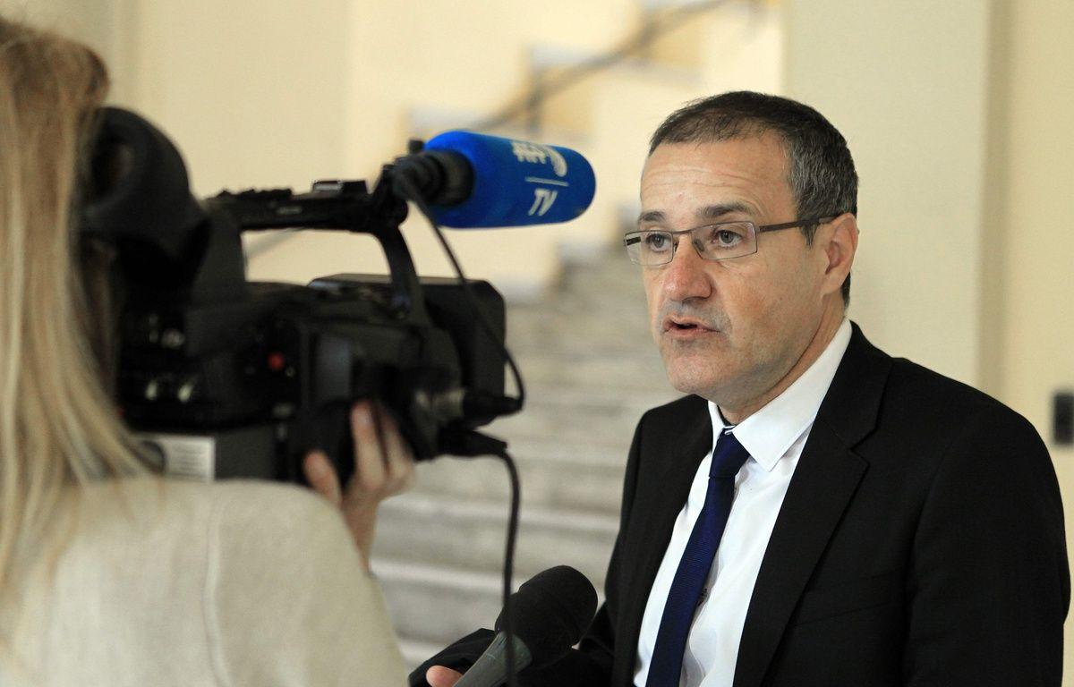 Jean-Guy Talamoni,le 30 décembre 2015 à Ajaccio. AFP / Pascal POCHARD-CASABIANCA – AFP