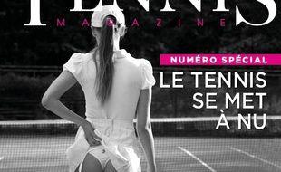 La couverture de «Tennis Magazine» ne fait pas l'unanimité.