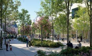 Le projet Bastide-Niel selon les plans d'origine.
