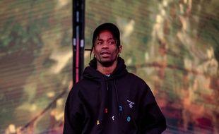 Le rappeur Travis Scott au festival de Leeds