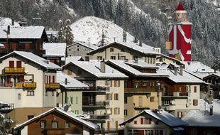 La station de Zermatt, en Suisse, classée meilleure station des Alpes 2014.
