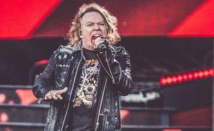 Le chanteur des Guns N' Roses, Axl Rose