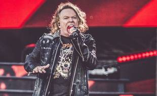 Le chanteur des Guns N' Roses, Axl Rose