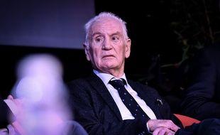Philippe Madrelle en 2018, lors du jubilé politique organisé pour ses 50 ans de mandat.