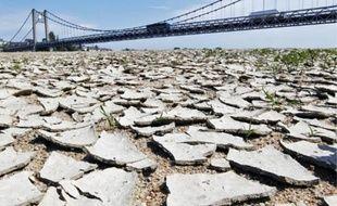 La Loire-Atlantique (ici, le pont suspendu d'Ancenis) fait partie des 42 départements concernés par les restrictions d'eau.