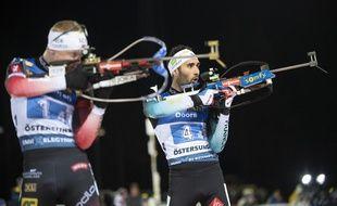 Johannes Boe et Martin Fourcade vont batailler pour le classement général de la Coupe du monde de biathlon.