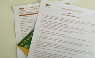 La CPAM du Rhône alerte sur la hausse des indemnités liées aux arrêts de travail. Illustration.