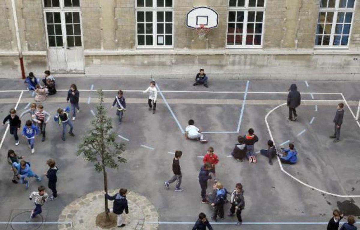 Une cour d'école en France – Thomas Samson AFP