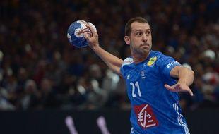 Mika Guigou disputait son dernier Euro de hand