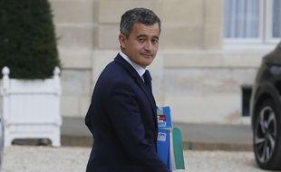 Gérald Darmanin, ministre de l'Intérieur, le 15 juillet 2020 à l'Elysée.
