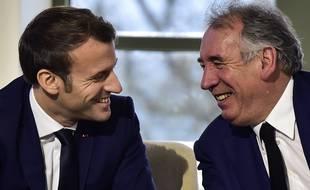 François Bayrou a reçu le soutien appuyé d'Emmanuel Macron début janvier.