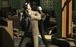 «Payday 2», un FPS où quatre gangsters mettent en commun leurs talents pour réaliser des missions criminelles.