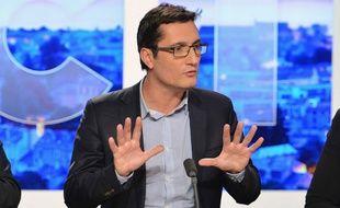 Olivier Dartigolles était tête de liste pour le Front de Gauche aux Régionales 2015 en Aquitaine-Limousin-Poitou-Charentes.