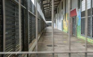 Baie-Mahault (Guadeloupe), le 3 juillet 2016. Depuis sa cellule, un homme exigeait une rançon pour «épargner» un homme accusé d'agression sexuelle sur mineure.