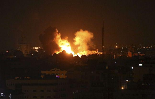 nouvel ordre mondial | Gaza: Nouvel accès de fièvre après un barrage de roquettes palestiniennes et des frappes israéliennes